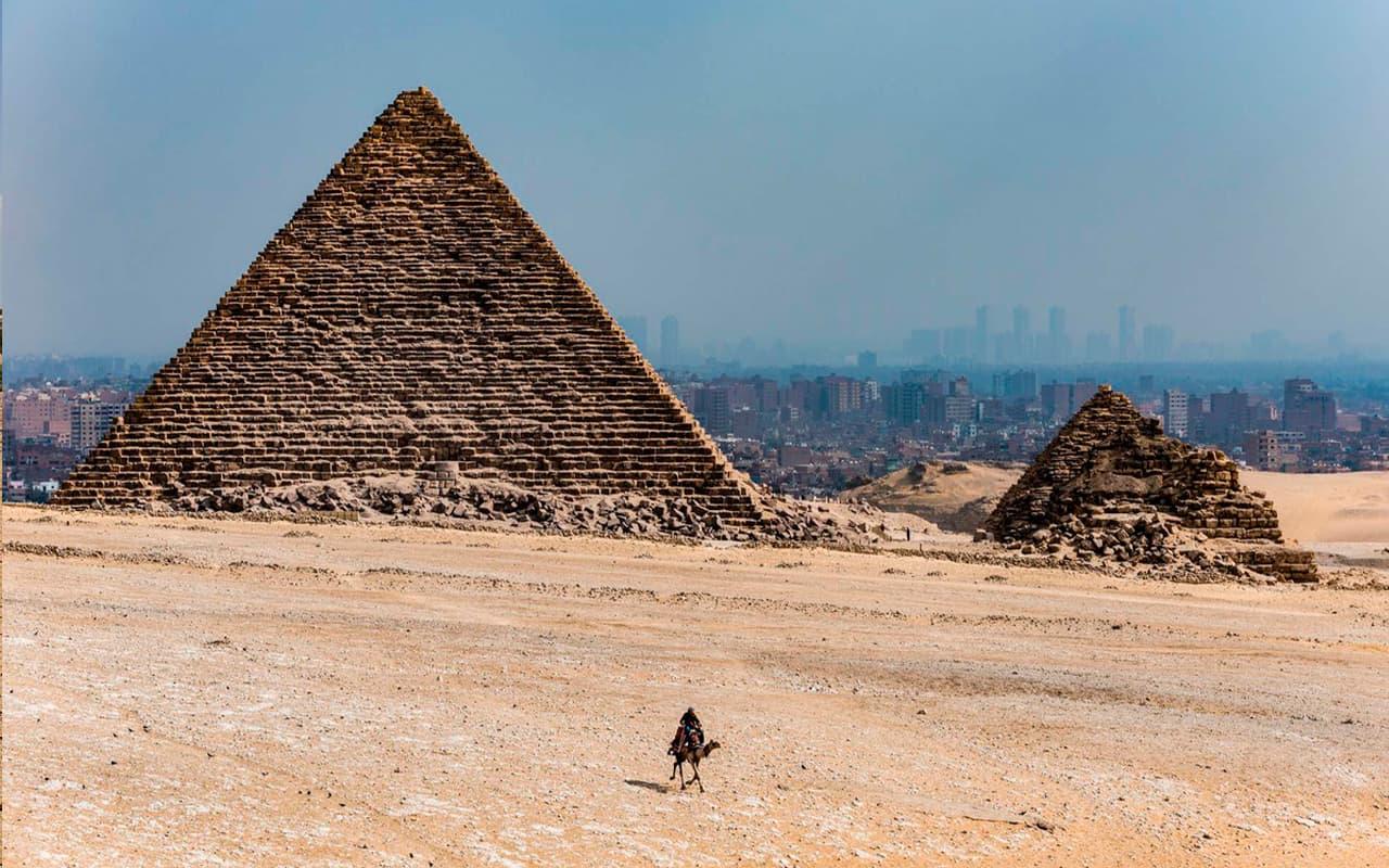 Las pirámides de Giza, tesoro de Egipto